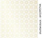 ramadan kareem gold greeting... | Shutterstock .eps vector #641395744