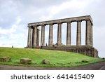 edinburgh  scotland uk  ... | Shutterstock . vector #641415409