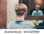 back view of stylish trendy... | Shutterstock . vector #641420989