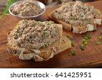 healthy wholegrain bread... | Shutterstock . vector #641425951