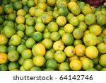 oranges  vientiane  laos. | Shutterstock . vector #64142746
