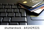 Various Credit Debit Cards On A ...