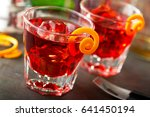 delicious negroni cocktails...