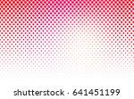 light red  yellow vector banner ... | Shutterstock .eps vector #641451199