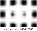 abstract halftone dotted... | Shutterstock .eps vector #641462185