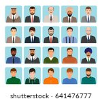 avatars characters set of... | Shutterstock .eps vector #641476777