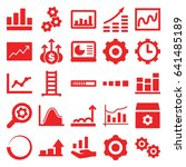 progress icons set. set of 25... | Shutterstock .eps vector #641485189