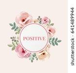 illustration of happiness... | Shutterstock . vector #641489944