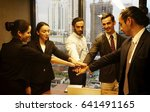 joint hands together for... | Shutterstock . vector #641491165