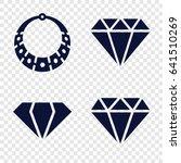 gem icons set. set of 4 gem... | Shutterstock .eps vector #641510269