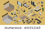 illustration vector isometric... | Shutterstock .eps vector #641512165