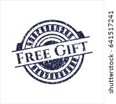 blue free gift distress rubber...