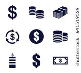 income icons set. set of 9... | Shutterstock .eps vector #641519539