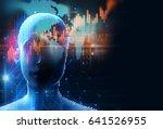 3d rendering of human  on...   Shutterstock . vector #641526955