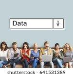 find search data information...   Shutterstock . vector #641531389