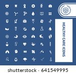 health care icon set | Shutterstock .eps vector #641549995