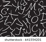 vector seamless pattern with... | Shutterstock .eps vector #641554201