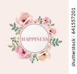 illustration of happiness... | Shutterstock . vector #641557201