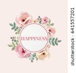 illustration of happiness... | Shutterstock . vector #641557201