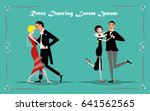 vector illustration with retro... | Shutterstock .eps vector #641562565