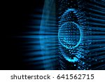 abstract techno background | Shutterstock . vector #641562715