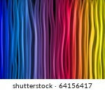 vector   abstract rainbow lines ...