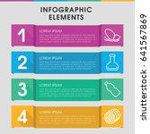 modern natural infographic... | Shutterstock .eps vector #641567869