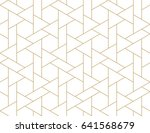 abstract geometric pattern with ... | Shutterstock .eps vector #641568679