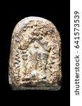 thai amulet  buddha images | Shutterstock . vector #641573539
