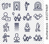adult icons set. set of 16... | Shutterstock .eps vector #641574469