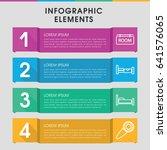 modern motel infographic... | Shutterstock .eps vector #641576065