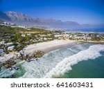 clifton beaches in cape town... | Shutterstock . vector #641603431