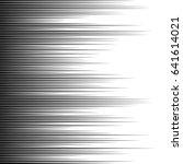 horizontal speed lines for... | Shutterstock .eps vector #641614021