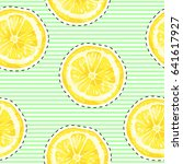 vector seamless pattern with...   Shutterstock .eps vector #641617927