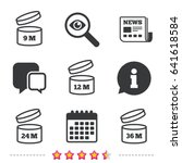 after opening use icons.... | Shutterstock .eps vector #641618584