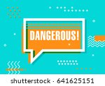 poster with cool design and... | Shutterstock .eps vector #641625151
