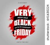 black friday sale banner best... | Shutterstock . vector #641630224