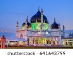 historic mosque of malaysia | Shutterstock . vector #641643799