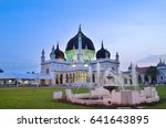 historic mosque of malaysia | Shutterstock . vector #641643895