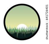 vector  illustration in circle...   Shutterstock .eps vector #641726401