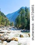 Parvati River Valley At Kasol ...