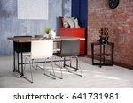interior of beautiful modern... | Shutterstock . vector #641731981