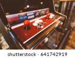 arcade machine. game arcade... | Shutterstock . vector #641742919