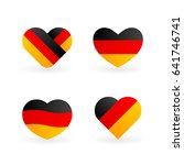 germany flag illustration ... | Shutterstock .eps vector #641746741