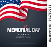 memorial day. remember and...   Shutterstock .eps vector #641750131