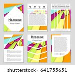 abstract vector layout...   Shutterstock .eps vector #641755651