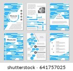 abstract vector layout... | Shutterstock .eps vector #641757025