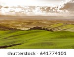 tuscany  italy   march 25  2017 ... | Shutterstock . vector #641774101