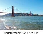 san francisco golden gate... | Shutterstock . vector #641775349