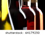 Red White And Ros  Wine Bottles ...